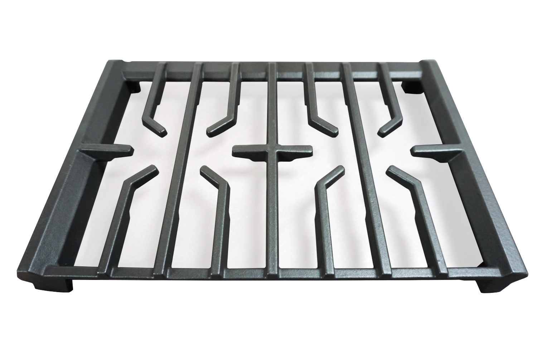 "gas hob, pan support, cast-iron, enamel coated, L-36"", manufacturer BLMT"
