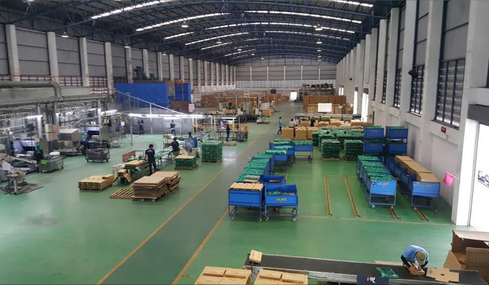 Purpose-built BLMT factory, Thailand, for cast iron enamel coated products